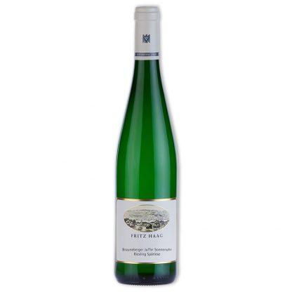 White Wine,Brauneberger Juffer Sonnenuhr Riesling Spätlese 棕山日晷園晚摘甜白葡萄酒