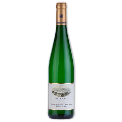 White Wine,Brauneberger Juffer Sonnenuhr Riesling Auslese Goldkapsel 棕山日晷園金頸串選晚摘貴腐酒