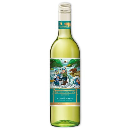 White Wine,Wilderness Estate Rapids White 野趣系列激流白葡萄酒