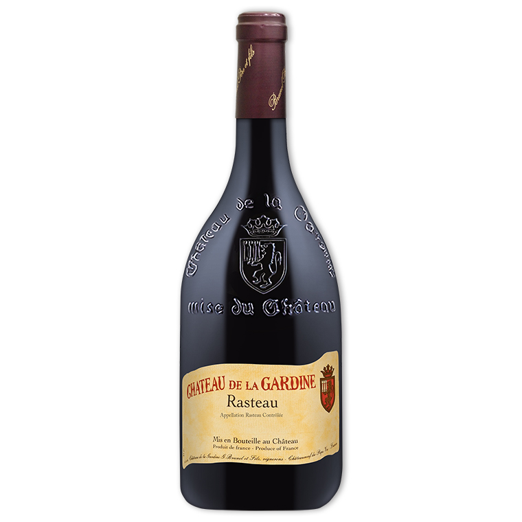 Red Wine,Château de la Gardine Rasteau 德拉賈汀阿斯度紅酒
