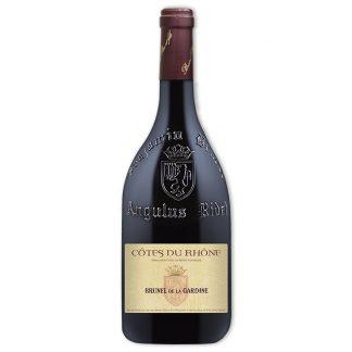 Red Wine,Brunel de la Gardine Côtes du Rhône Rouge 德拉賈汀隆河丘紅酒