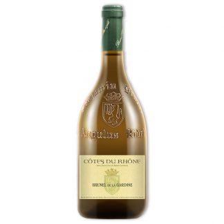 White Wine,Brunel de la Gardine Côtes du Rhône Blanc 德拉賈汀隆河丘白葡萄酒