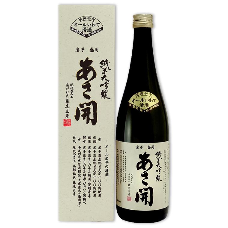 Sake,純米大吟醸 オールいわて,全岩手純米大吟釀,720mL