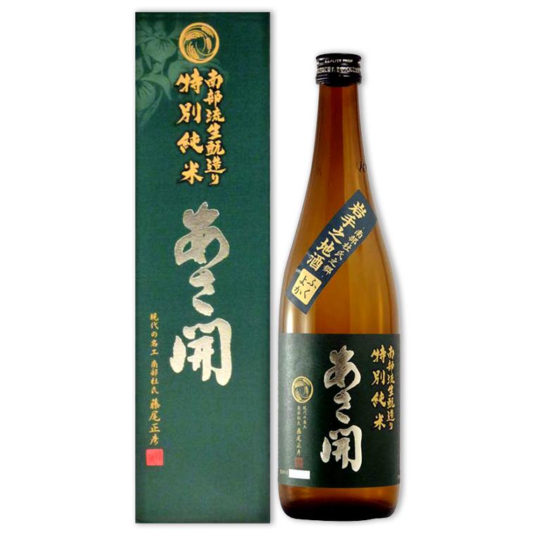 Sake,南部流きもと造り特別純米,南部流生酉元造特別純米,720mL