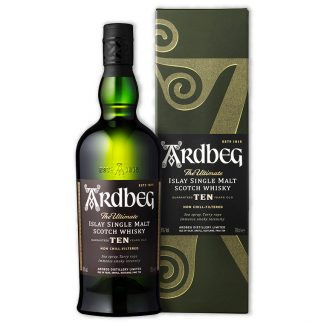 Whisky,Ardbeg 10 Years Single Malt Scotch Whisky 雅柏艾雷10年單一純麥威士忌,700mL