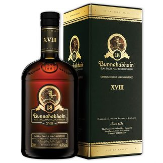 Whisky,Bunnahabhain 18 Years Islay Single Malt Scotch Whisky 布納哈本18年艾雷島單一純麥威士忌,700mL