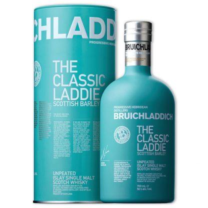 Whisky,Bruichladdich The Laddie Ten Second Limited Edition Single Malt Scotch Whisky 布萊迪萊迪系列蘇格蘭大麥單一純麥威士忌,700mL