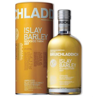 Whisky,Bruichladdich Islay Barley 2007 Rockside Farm Single Malt Scotch Whisky 布萊迪萊迪系列艾雷島大麥2007版單一純麥威士忌,700mL