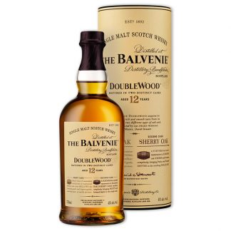 Whisky,Balvenie 12 Years Doublewood Single Malt Scotch Whisky 百富12年雙桶單一純麥威士忌,700mL
