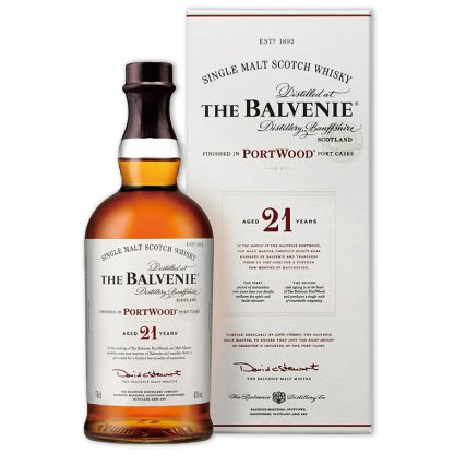 Whisky,Balvenie 21 Years Single Malt Scotch Whisky 百富21年單一純麥威士忌,700mL