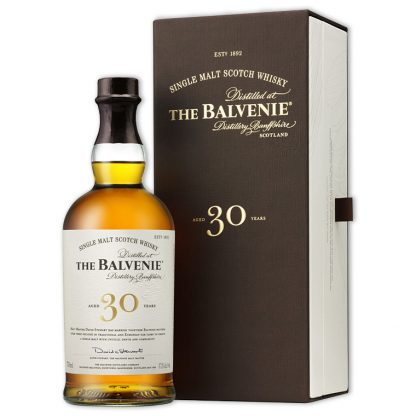 Whisky,Balvenie 30 Years Single Malt Scotch Whisky 百富30年單一純麥威士忌,700mL
