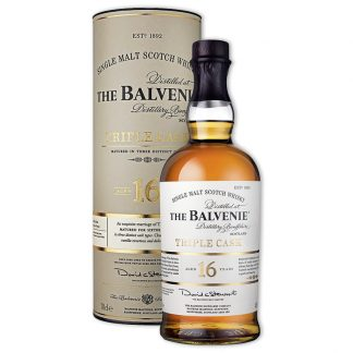 Whisky,Balvenie 16 Years Triple Cask Single Malt Scotch Whisky 百富16年經典三桶單一純麥威士忌,700mL