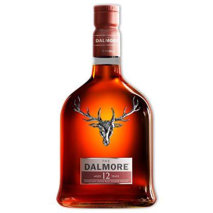 Whisky,Dalmore 12 Year Single Malt Whisky 大摩12年單一純麥威士忌,700mL