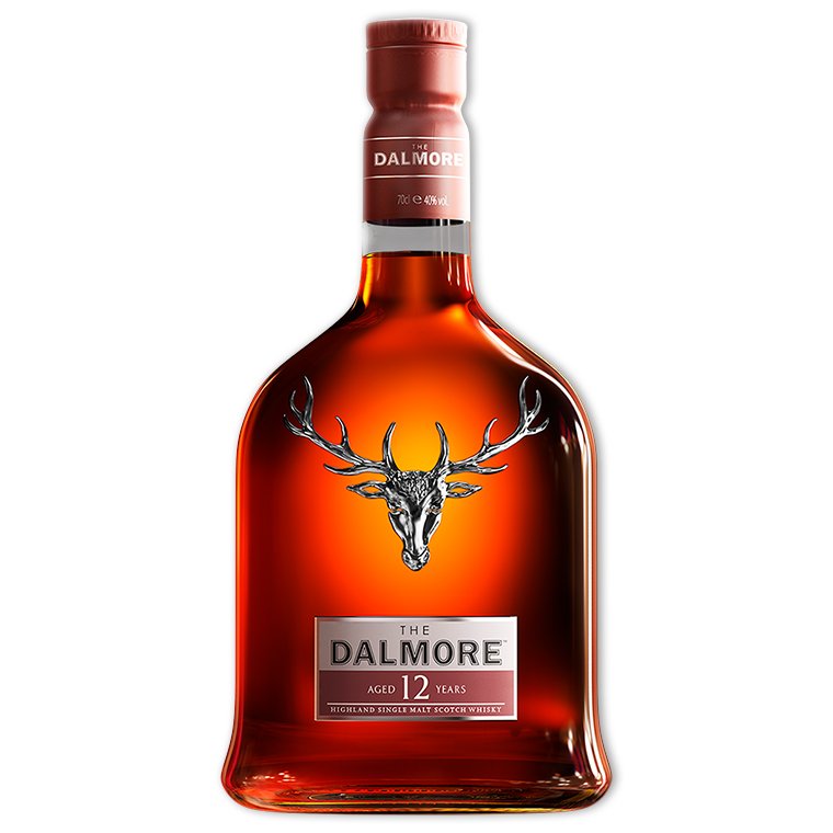 Whisky,Dalmore 12 Year Single Malt Whisky 大摩12年單一純麥威士忌,700mL