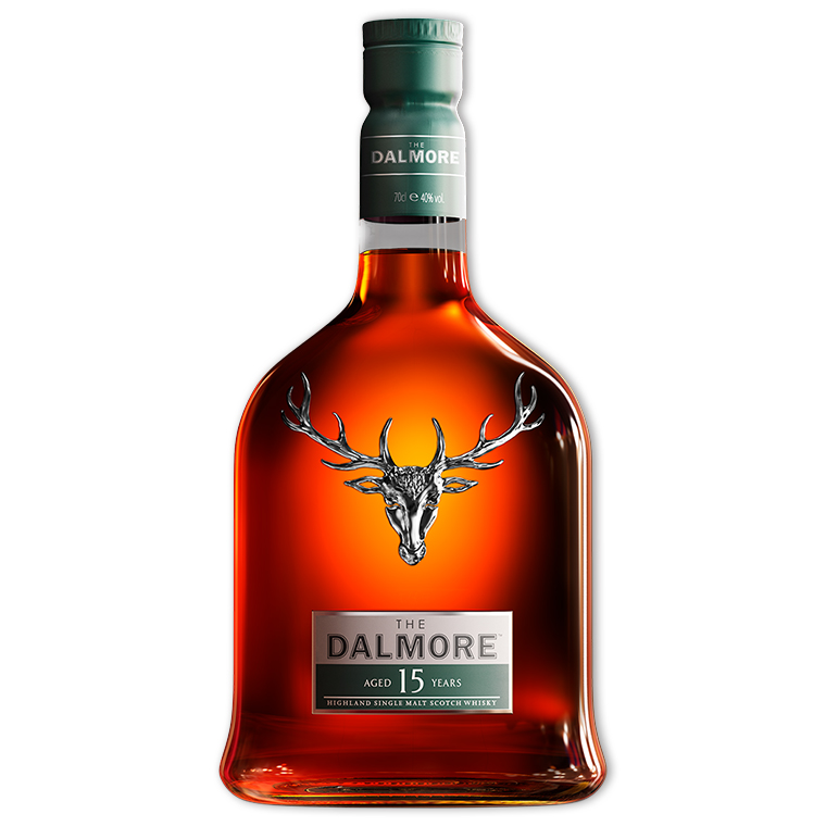 Whisky,Dalmore 15 Year Single Malt Whisky 大摩15年單一純麥威士忌,700mL