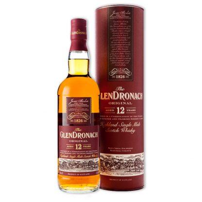 Whisky,Glendronach 12 Years Single Malt Scotch Whisky 格蘭多納12年單一純麥威士忌,700mL