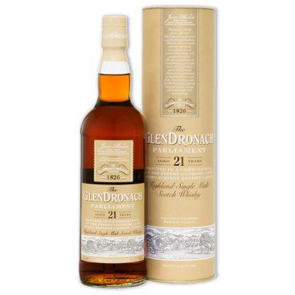 Whisky,Glendronach 21 Years Single Malt Scotch Whisky 格蘭多納21年單一純麥威士忌,700mL