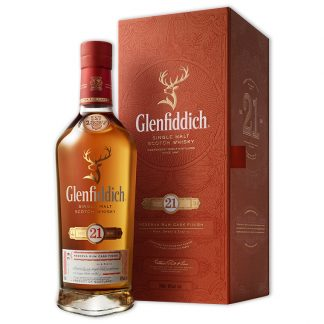 Whisky,Glenfiddich 21 Years Single Malt Scotch Whisky 格蘭菲迪21年單一純麥威士忌,700mL