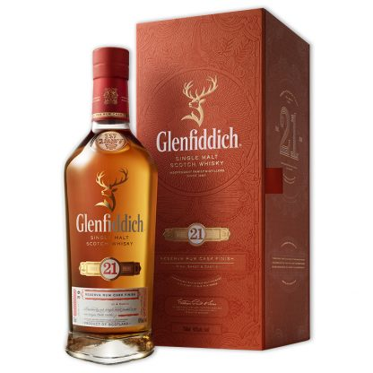 Whisky,Glenfiddich 21 Years Single Malt Scotch Whisky 格蘭菲迪21年單一純麥威士忌,700mL