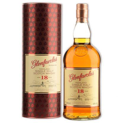 Whisky,Glenfarclas 18 Years Highland Single Malt Scotch Whisky 格蘭花格18年單一純麥威士忌,1000mL