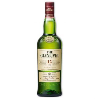 Whisky,Glenlivet 12 Years Single Malt Scotch Whisky 格蘭利威12年單一純麥威士忌,700mL