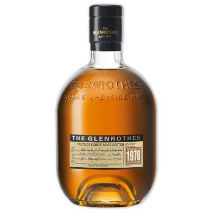 Whisky,Glenrothes 1978 Vintage Single Malt Scotch Whisky 格蘭路思1978單一純麥威士忌,700mL