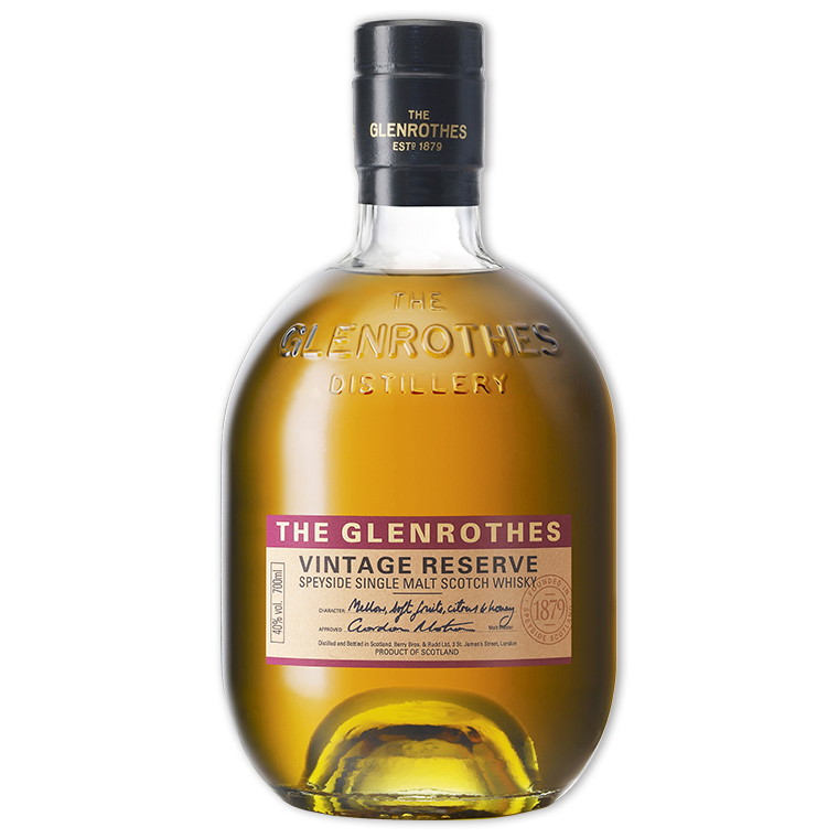 Whisky,Glenrothes Select Reserve Single Malt Scotch Whisky 格蘭路思年份首選單一純麥威士忌,700mL