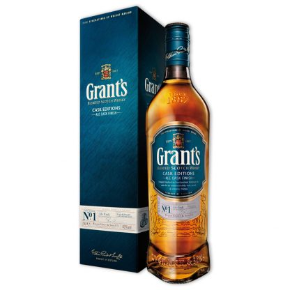 Whisky,Grant's Cask Editions Ale Cask Finish Blended Scotch Whisky 格蘭啤酒桶調和威士忌,700mL