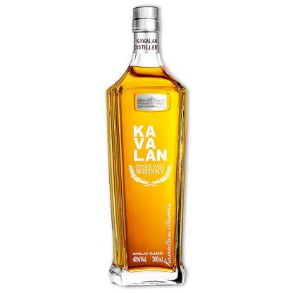 Whisky,Kavalan Classic Single Malt Whisky 噶瑪蘭經典單一純麥威士忌,700mL