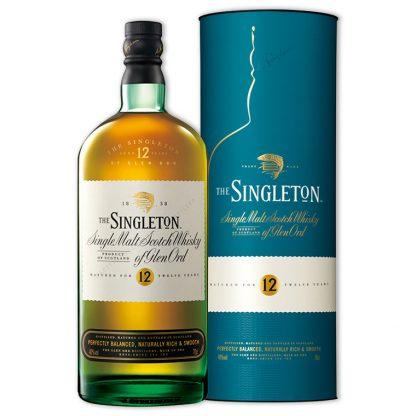 Whisky,Singleton Of Glen Ord 12 Years Single Malt Scotch Whisky 蘇格登12年單一純麥威士忌(亞洲版),700mL