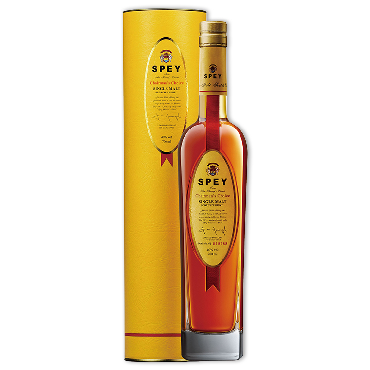 Whisky,Spey Chairman's Choice Single Malt Scotch Whisky 詩貝總裁精選單一純麥威士忌,700mL