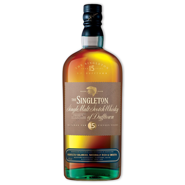 Whisky,Singleton of Dufftown 15 Years Single Malt Scoth Whisky 蘇格登歐洲版15年單一純麥威士忌,700mL
